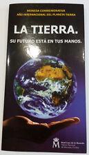 ESPAÑA. 2008. 12 EURO. AÑO INTERNACIONAL DEL PLANETA. CARTERA FNMT