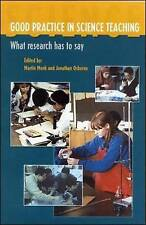 Good Practice in Science Teaching: What Research Has to Say.  2003
