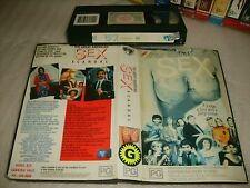 Vhs *THE GREAT AMERICAN SEX SCANDAL* 1990 Applause (Roadshow) Issue Adult Comedy