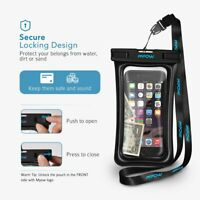 Mpow Underwater Water Proof Case Dry Bags Pouch for Phone Apple iPhone Xs Max/XR