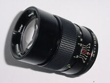 Pentax PK Fit Vivitar 135mm F/2.8 Auto Telephoto Manual Focus Lens + Ex+