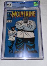 Wolverine #8 CGC 9.6 White Pages Mr. Fix it