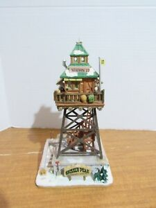 Lemax 2011 Grizzly Peak Lookout Tower Table Accent Ranger Station