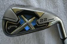 Callaway X-22 Single 6 Iron Factory 75G Graphite R Flex Right Handed