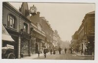 Hampshire postcard - Wellington Street, Aldershot - RP - P/U (A35)