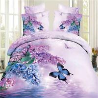 Butterfly Duvet Cover Set Twin Queen King Size Size Bedding Set Pillowcase