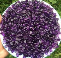 100g Natural Amethyst Beautiful Purple QUARTZ Crystal  Gravel Polised AM001