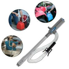 W/ Battery Transfer Pump Portable Stop Water Fuel Power Auto Operated