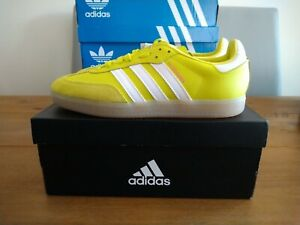 Adidas Velosamba SPD Cycling Shoes Acid Yellow White Size 8 UK BNIBWT