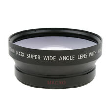 72mm 0.45x Super Wide Angle & Macro Conversion Lens for Canon Nikon Sony SLR