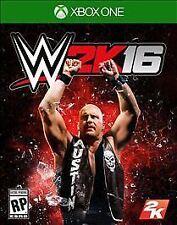 WWE 2K16 (Microsoft Xbox One, 2015) - COMPLETE