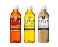 "Kirin ""Gogo no Kocha"" Afternoon Tea, 3 Flavors, Koucha, Japan Long Seller Drinks"