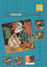 Vorlagenheft Mini Stecksystem Fische Nr. 7