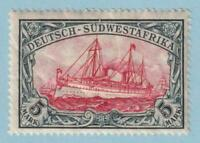 GERMAN SOUTH WEST AFRICA 34  MINT HINGED OG * NO FAULTS VERY FINE!