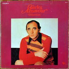 33t Charles Aznavour - Volume 9 - Desormais (LP)