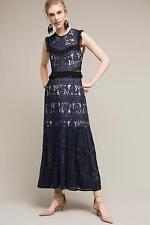 $478 NWT Anthropologie BHLDN Laced Dusk Midi dress by Three Floor sz 4