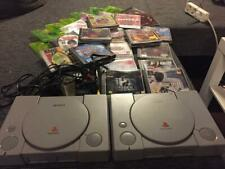 Sony PlayStation 1 -PS1 2 stück+spiele+demos Spielesammlung Konsolenkonvolut