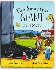 The Smartest Giant in Town by Julia Donaldson (Board book)-9780230749368-F045