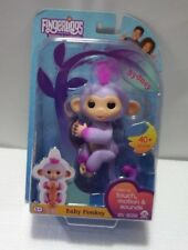 Fingerlings - Interactive Baby Monkey - Two Tone - Sydney LR44 AG13