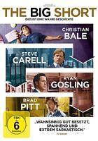 CHRISTIAN BALE/RYAN GOSLING/BRAD PITT - THE BIG SHORT   DVD NEU MCKAY,ADAM
