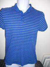 Topman - ROYAL BLUE Cotton Polo Shirt SIZE SMALL