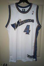 Washington Wizards Antawn Jamison Autographed Authentic NBA Jersey Size 48 (XL)