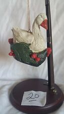 house of hatten HOH 12 Days of Christmas Ornament 1989 GEESE