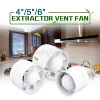 "4-6"" 220V Ventilation Extractor Exhaust Fan Wall Mounted Bathroom Kitchen Toilet"