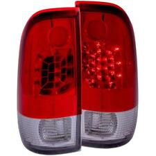 ANZO LED Taillights Red/Clear For 1997-2003 FORD F-150 Light Duty