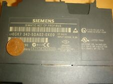 Used Siemens PROFIBUS CP 342-5 S7-300 6GK7342-5DA02-0XE0 Communication Processor