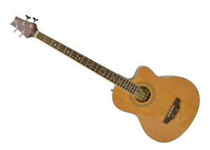 Electro Acoustic Bass Guitar| 4 String Bass with Built in Pre-Amp by Bryce Music