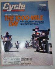 Cycle Magazine Honda GL1500/6 Yamaha October 1988 011315R2