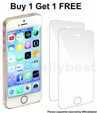 100% Genuine IPHONE 5 5S 5C 5SE Tempered Glass Screen Protector Protection Film