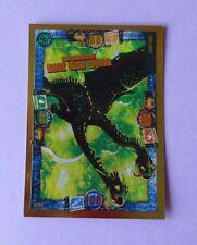 TRADING CARD, Drachenzähmen 3: LE 15 SUPERDRACHE KOTZ UND WÜRG