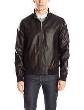 Tommy Hilfiger Mens Smooth Lamb Faux Leather Unfilled...