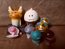Touch Detective Mushroom Garden Funghi Nameko Japan Figure Lot RARE Anime Game