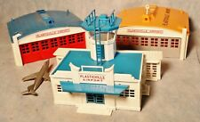 Plasticville 2 Airport Hangers and Airport Tower Administration Building
