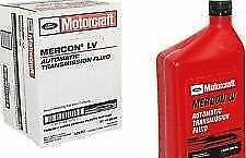 12 Quarts of Motorcraft MERCON LV Automatic Transmission Fluid (ATF)