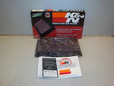 K&N AIR FILTERS SUITS HOLDEN COMMODORE, NISSAN AND SUBURU - KN33-2031-2