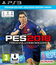 PES 2018 - Pro Evolution Soccer 18 - PS3 📥