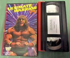 WWE ULTIMATE WARRIOR Video Coliseum VHS sehr rar Wrestling WWF WF068