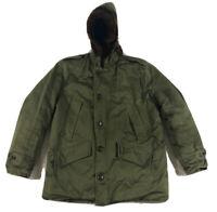 Vintage B-9 Parka Army Winter Jacket Korea/Vietnam Fur Hood EXTREMELY CLEAN!