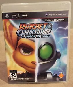 Ratchet & Clank Future A Crack in Time (PS3, 2009) Complete w/Manual - LIKE NEW