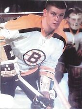 BOBBY ORR 8X10 PHOTO HOCKEY BOSTON BRUINS NHL PICTURE CUT NOSE HOCKEY COLOR