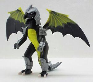 SCHWARZER KAMPFDRACHE Playmobil zu DRAGONS Drache Rüstung Magic Dragon Flügel