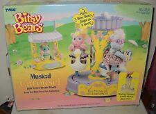 #6711 NIB Vintage Tyco Bitsy Bears Musical Carousel Playset
