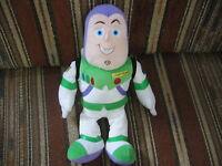 "14"" plush Buzz Lightyear doll, good condition"
