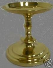 Partylite Brass 4 inch Falmouth Pillar Candle Holder