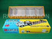 Corgi. #1104 Detachable Axle Machinery Carrier - Reproduction Box by DRRB