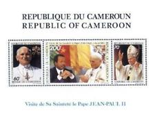 Cameroon 1985 Mi 1090-92 BL24 ** John Paul II Jan Paweł Papa Papst
